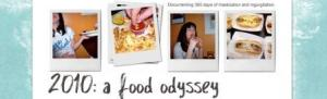 A Food Odyssey blogsite