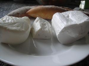 Middle Eastern cheeses