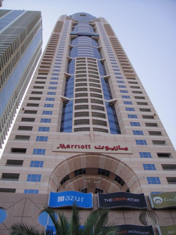 The Marriot Harbour Hotel Dubai
