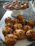 Stilton muffins and banoffee cakes
