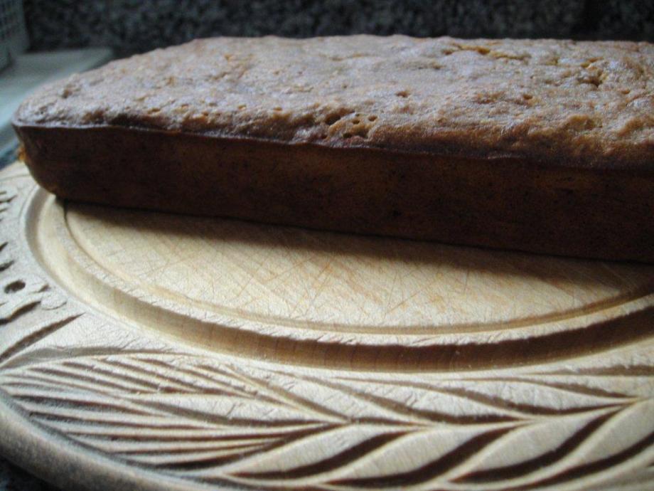 Close up of banana bread