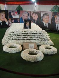 Rafik Hariri's grave