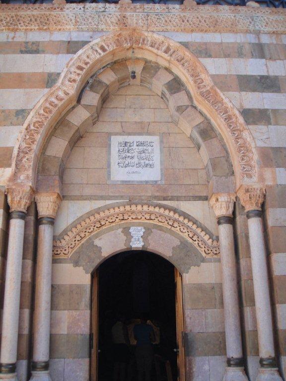 Door to chapel in monestary