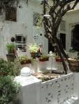 In the courtyard or majlis