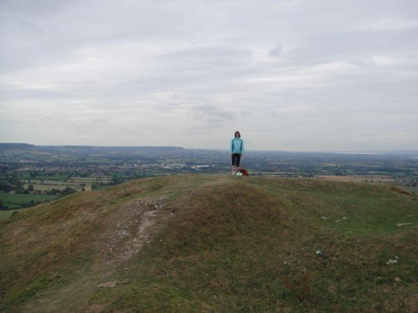 View of the topography point over Severn