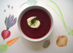 Barszcz - beetroot soup