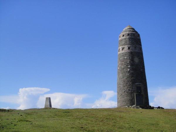 The monument on The Oa