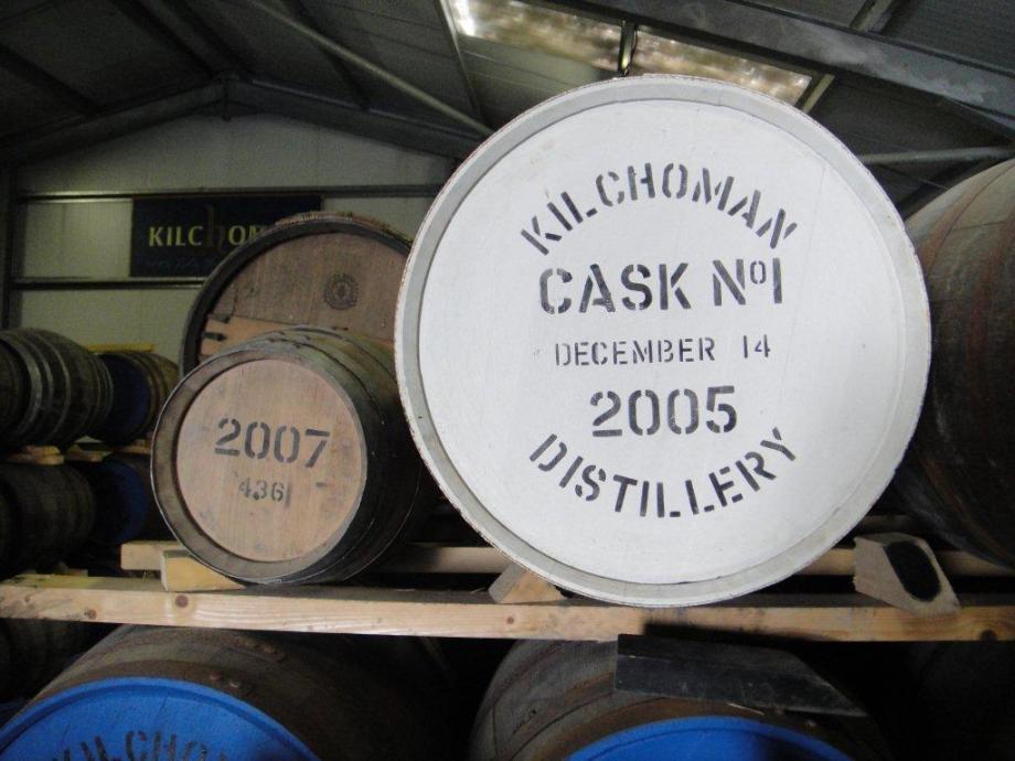 First barrel of Kilchoman