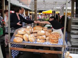 A bread stall