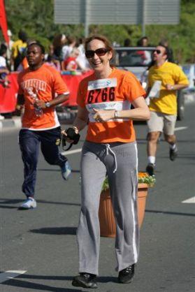 3km in Dubai marathon