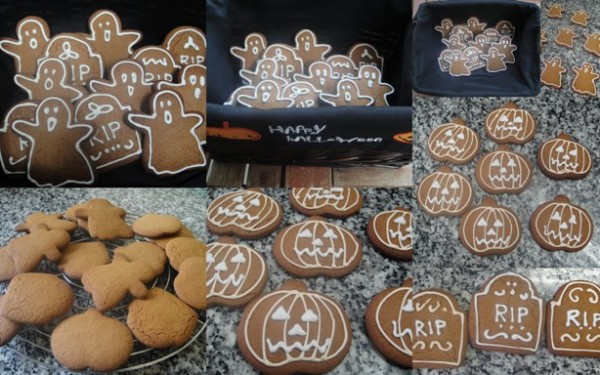 Spooky gingerbread