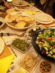 Part of the Lebanese feast