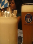 At the table - Oktoberfest Dubai