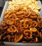 Pretzels at the Oktoberfest in Dubai