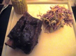 Ribs, coleslaw and corn