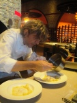 Giorgio Locatelli cooking pasta