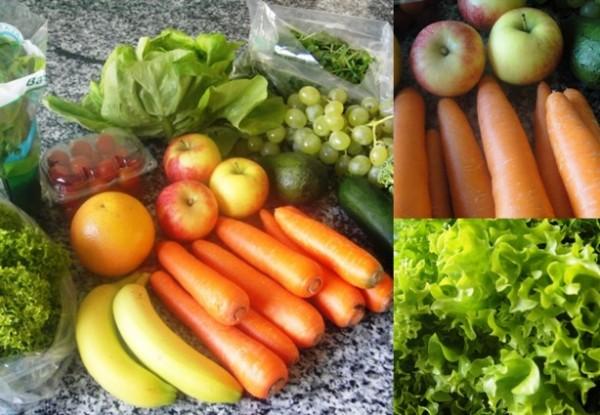 Salata Dubai lucky fruit and veg box