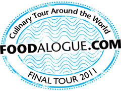 Foodalogue culinary tour around the world logo