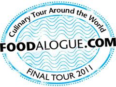 Foodalogue culinary tour around the world logo