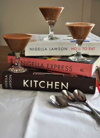 Nigella books and mousses
