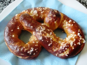 Home made pretzel