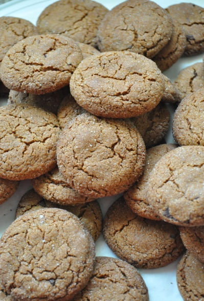Ginger chocolate biscuits