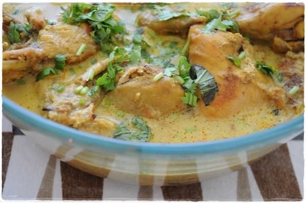 Cocomut chicken curry