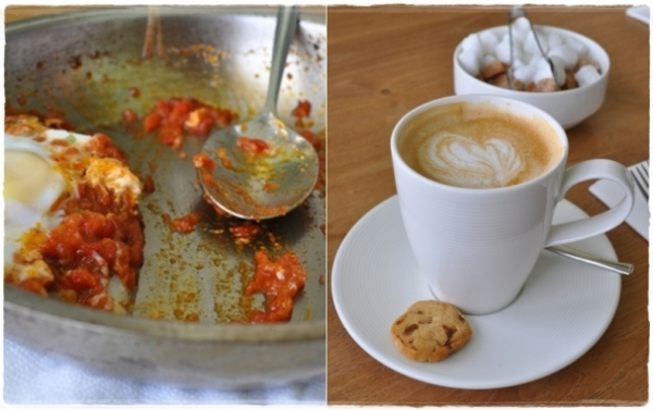 Shakshuka and coffee