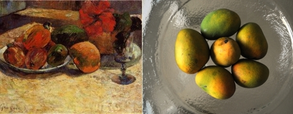 Gauguin and mangoes