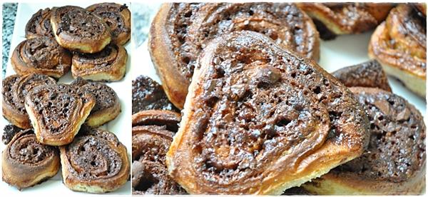 Chocolate cinnamon buns