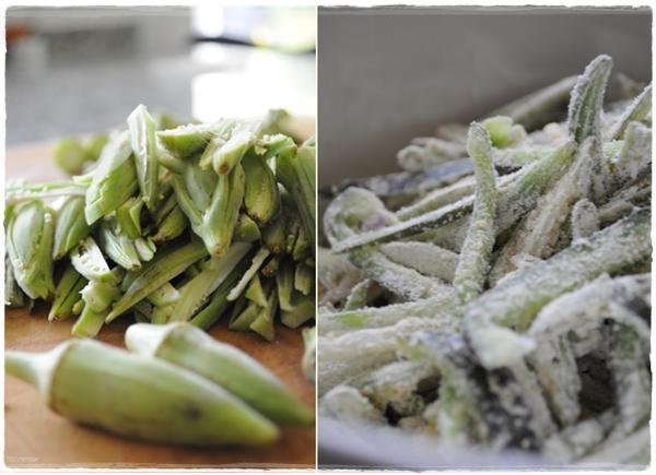 Okra preparation