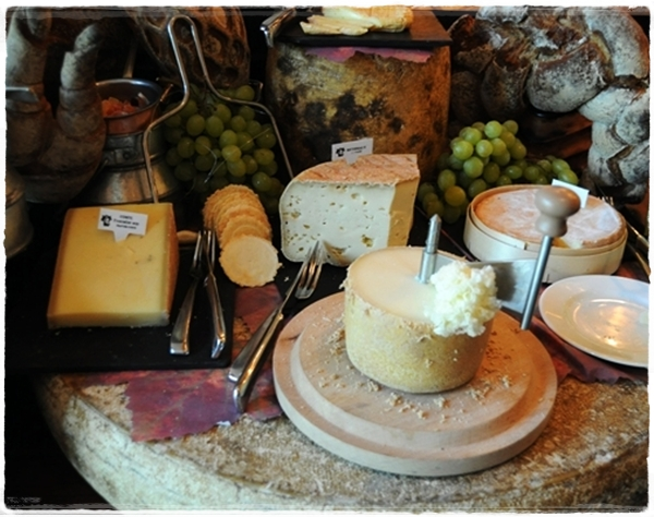 Cheeses at Rostang