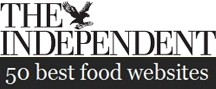 The Independent 50 best food blogs