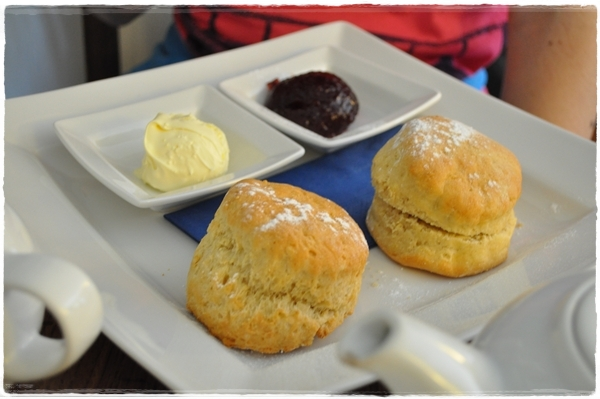 Cream tea - Cotehele