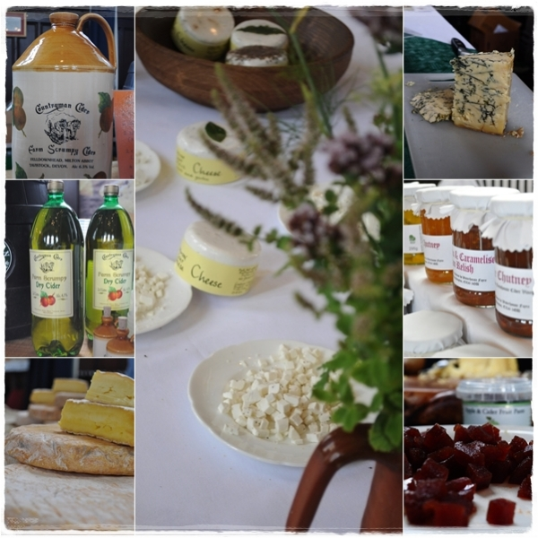 Cider, cheese, chutney and fruit pastes