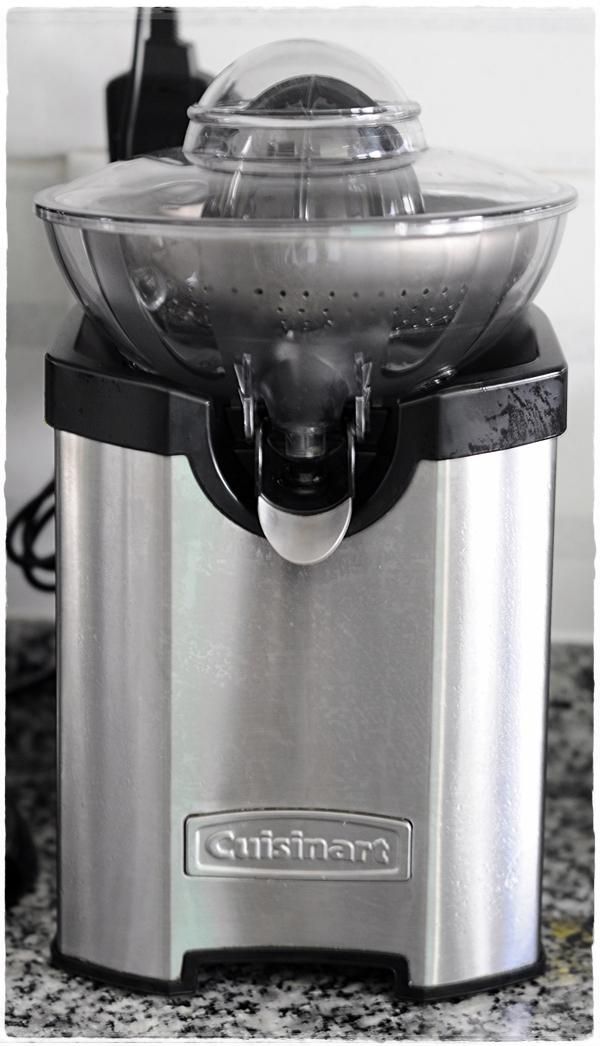 Cusinart juice press
