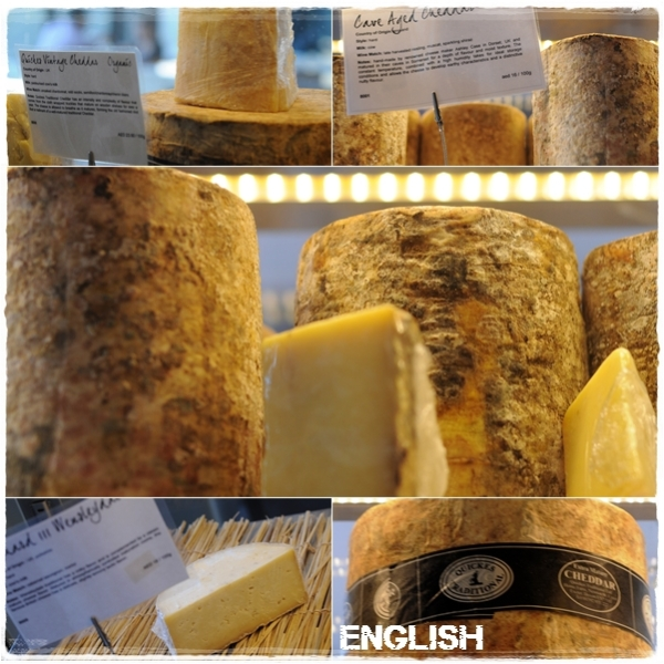 English cheeses