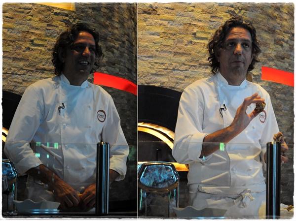 Giorgio Locatelli with truffle