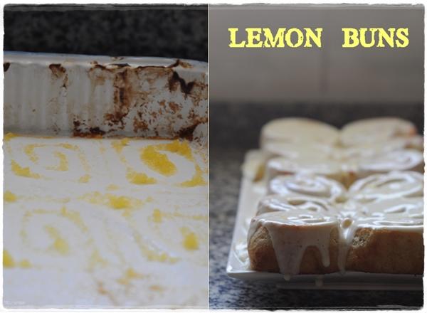 Lemon buns