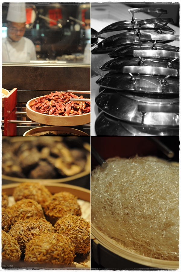 Images from the Saffron kitchen