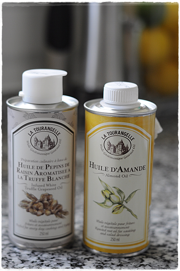 Truflle and almond oil