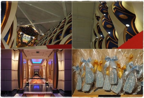 Christmas festivities at the Burj Al Arab