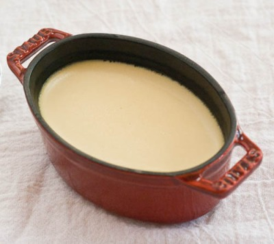 Maple pots de creme