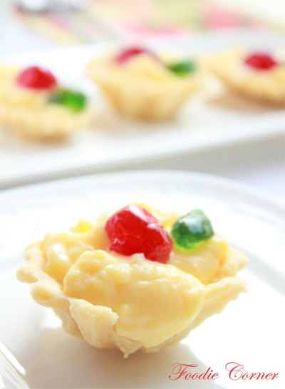 Custard Tartlettes