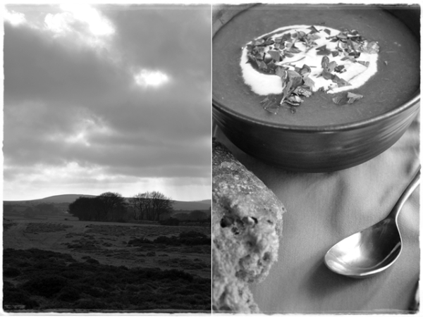 Dartmoor and goulash soup