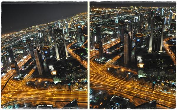 View from the Burj Khalifa Dubai