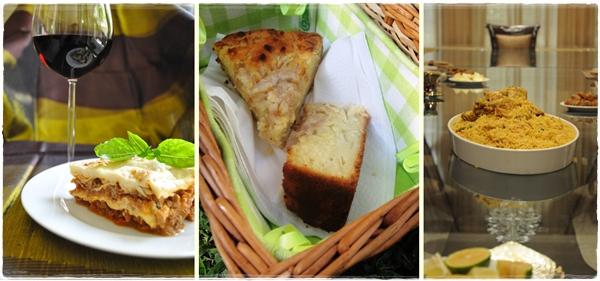 Lasagna, picnics, Emirati food