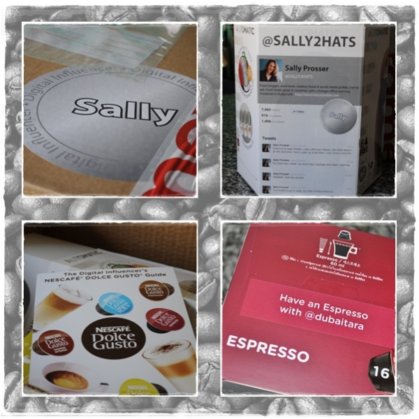 Dolce Gusto digital influencer package