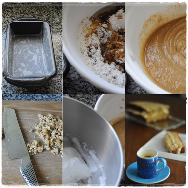 Making coffee cake