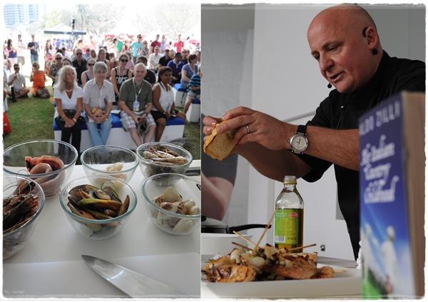 Aldo Zilli Taste of Dubai 2012